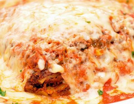 Lasagna Carne Gratinar
